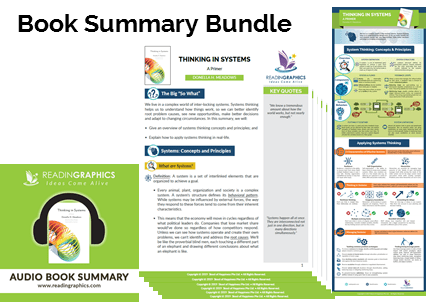 Thinking in Systems Summary_Book Summary Bundle