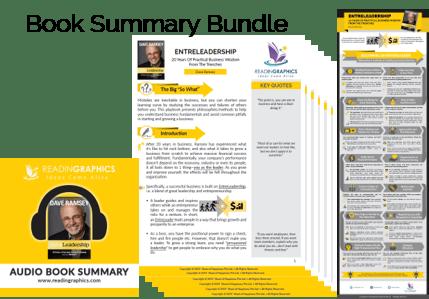 Entreleadership summary_Book summary bundle