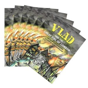 Vlad and the Great Fire of London Picture Book – set of 6