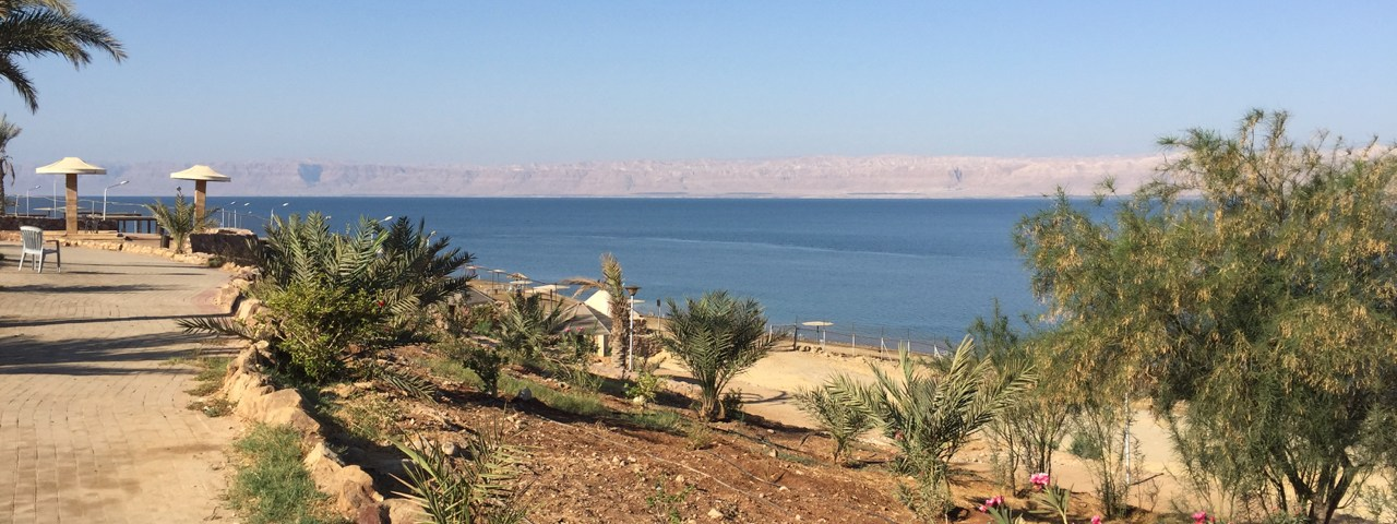 swimming in the dead sea featured