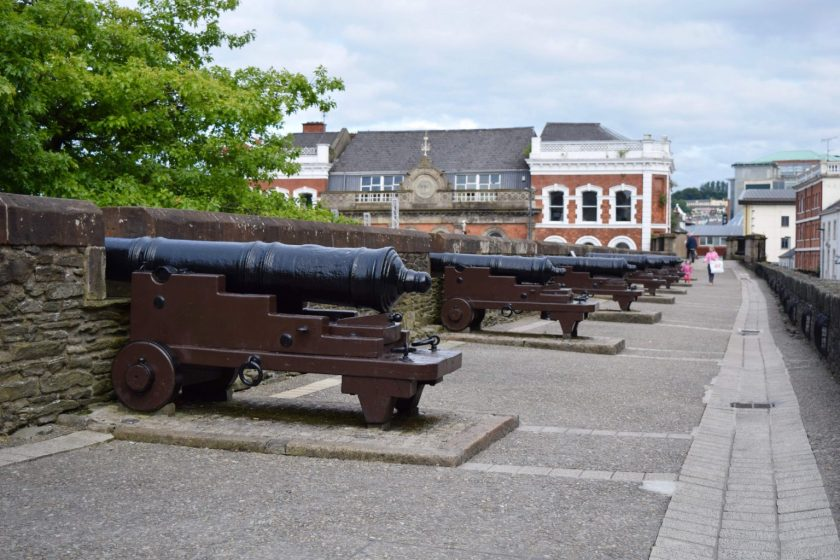 Ulster travel: Derry City Walls, Co Londonderry
