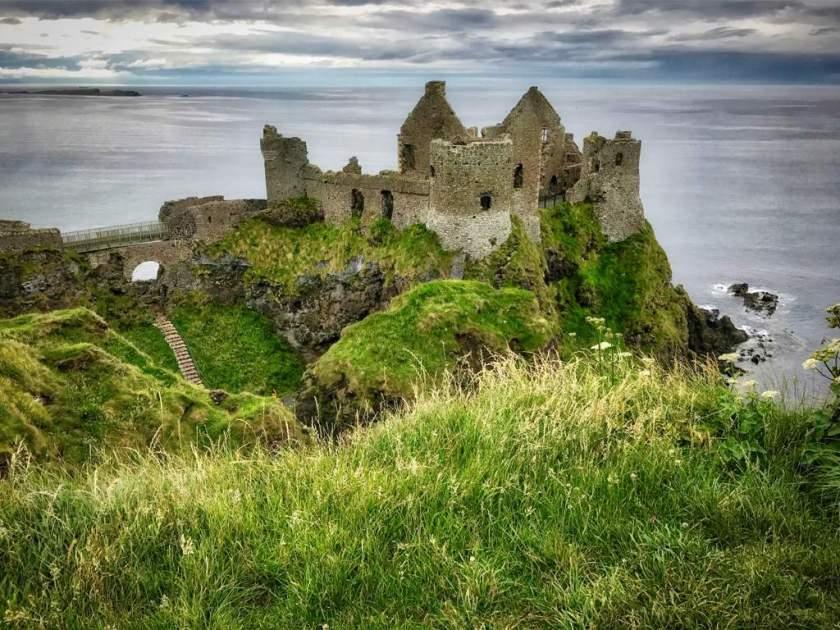 Ulster travel: Dunluce Castle, Co Antrim