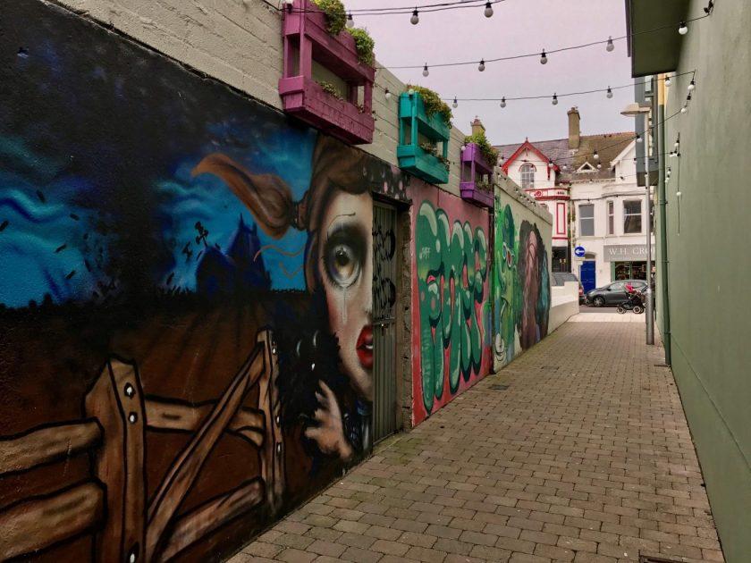 Ulster travel: Street art, Newcastle, Co. Down