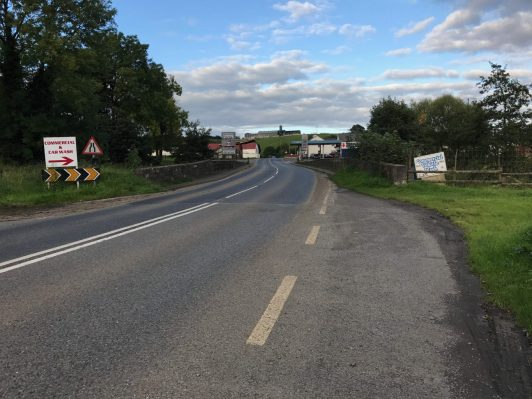 Ulster travel: Irish border between Co Monaghan and Co Armagh