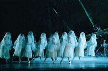 The Wilis in Giselle (company unknown, photo by Bill Cooper)