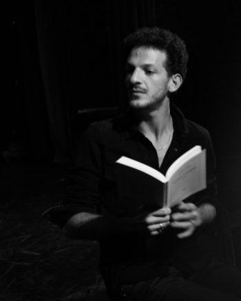 """Vincent_Dedienne """"Lettres à Eugène"""" Hervé Guibert @ Francesca MANTOVANI / READING WILD"""