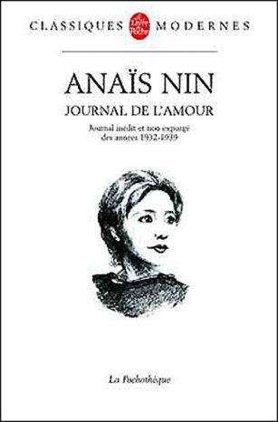 "Anaïs Nin ""Journal de l'amour"""