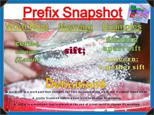 cern- Prefix Snapshot