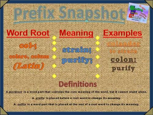 col- Prefix Snapshot