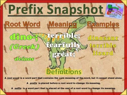 dino- Prefix Snapshot