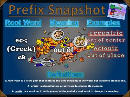 ec- Prefix Snapshot