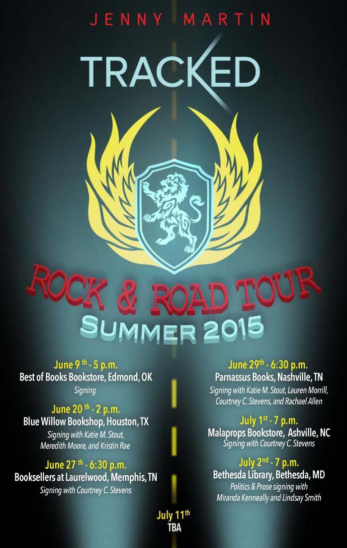 Summer 2015: Tracked Road & Road Tour! | Jenny Martin