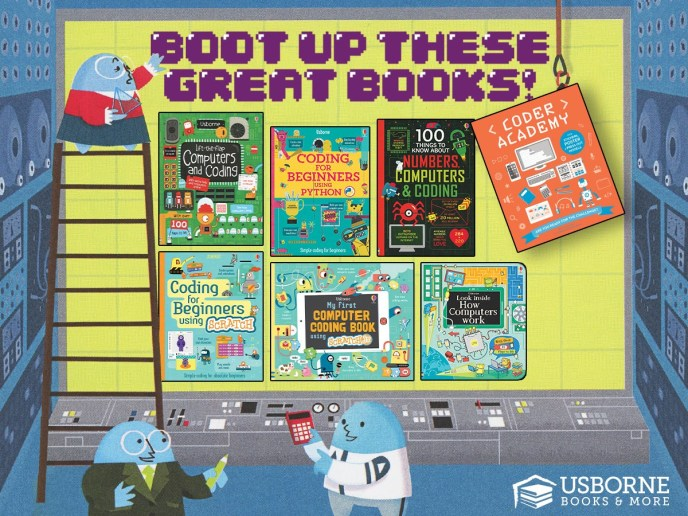 Boot Up These Great Books!
