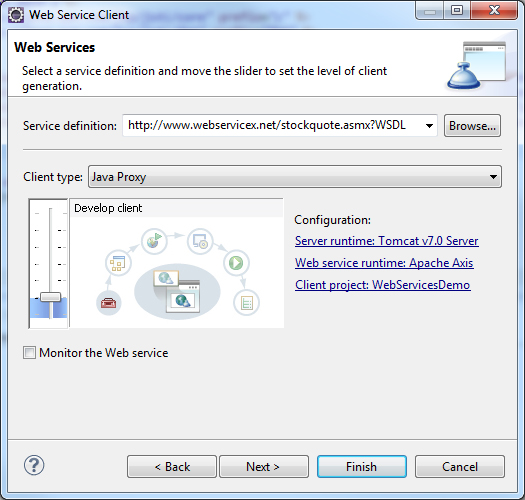 Create Web Services Client