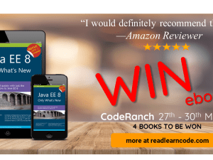 Java EE 8 Coderanch book promotion