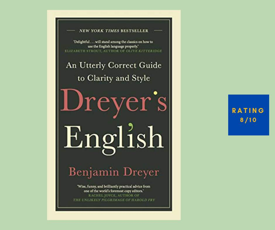 Benjamin Dreyer Dreyer's English review