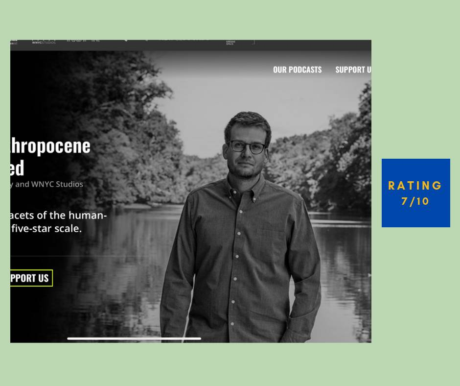 The Anthropocene Reviewed review