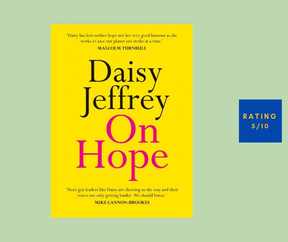 Daisy Jeffries On Hope review
