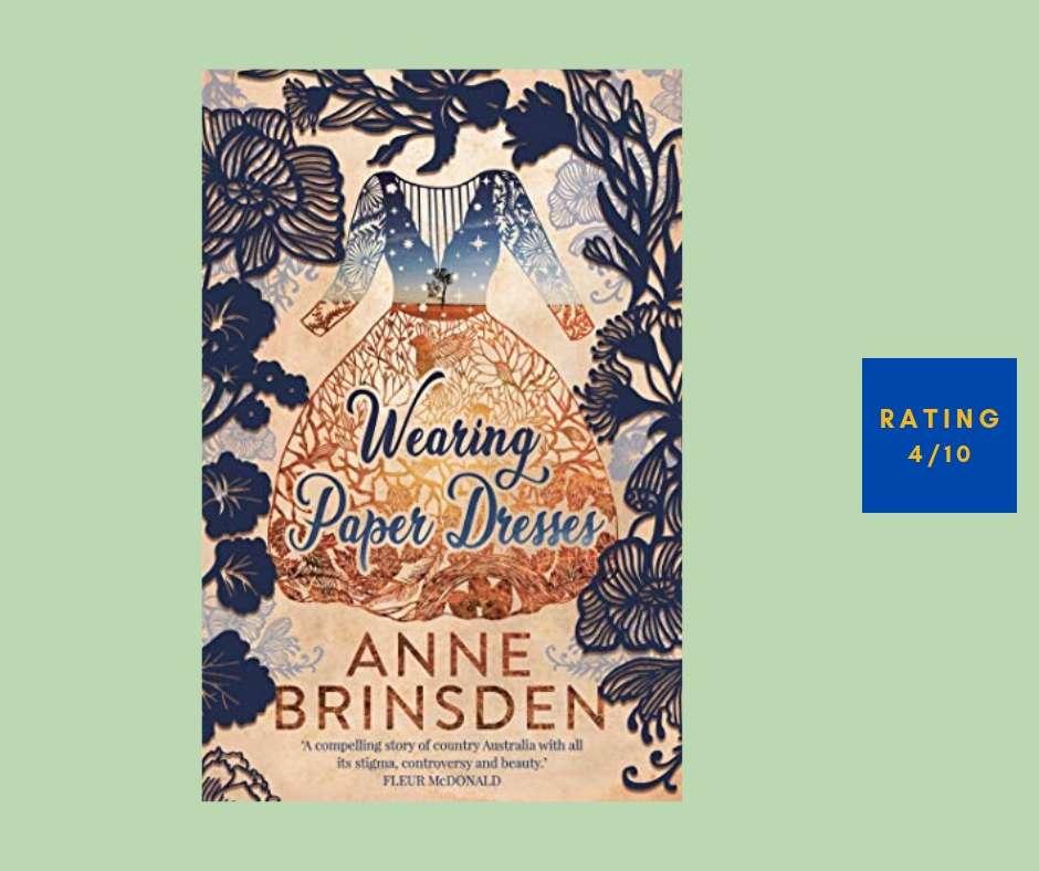 Anne Brinsden Wearing Paper Dresses review