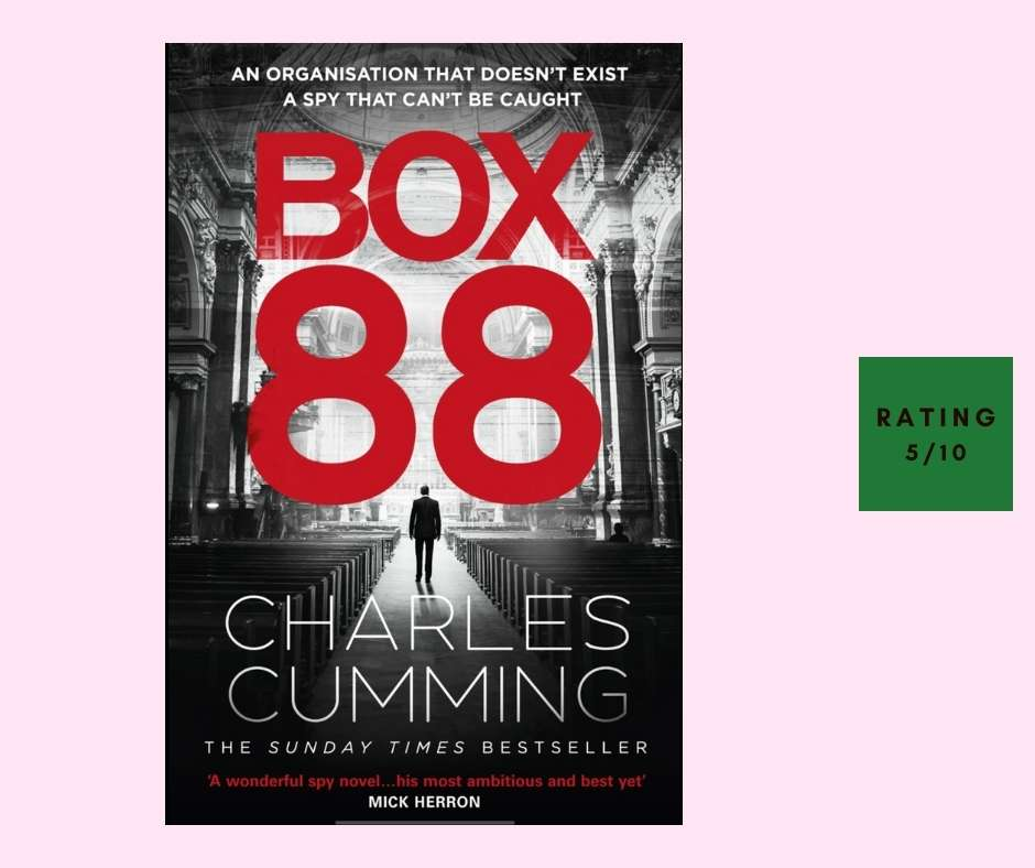 Charles Cumming Box 88 review