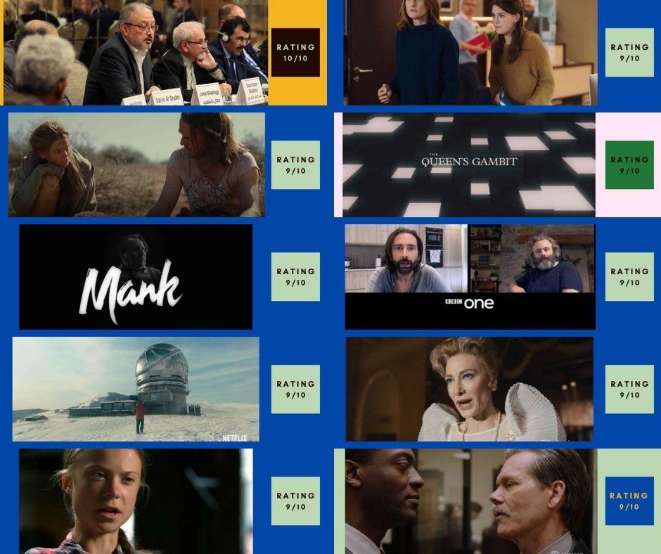 2021 Top 10 Movies so far
