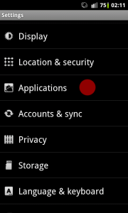 install applications outside of google play