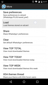Whatsapp plus material themes