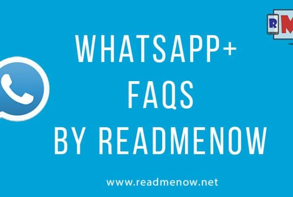 Whatsapp+ FAQ