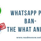 WhatsApp plus ban- the what and why
