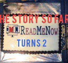 ReadMeNow Turns Two – Story So Far!