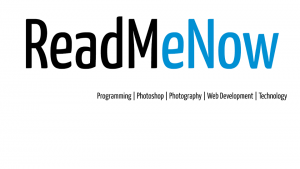 Initial Logo of ReadMeNow