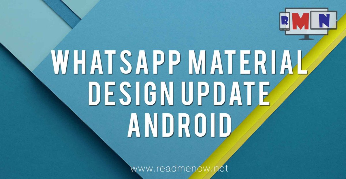 Whatsapp Material Design For Android