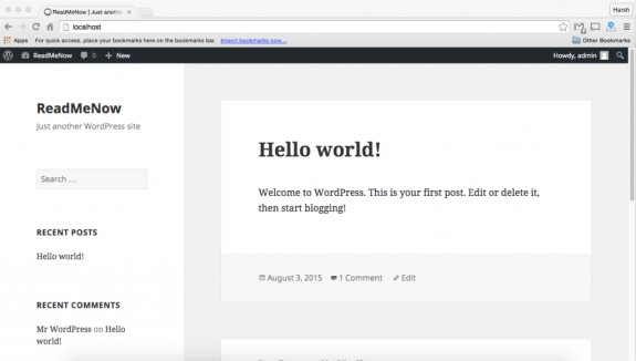 wordpress tutorial - install coming soon page