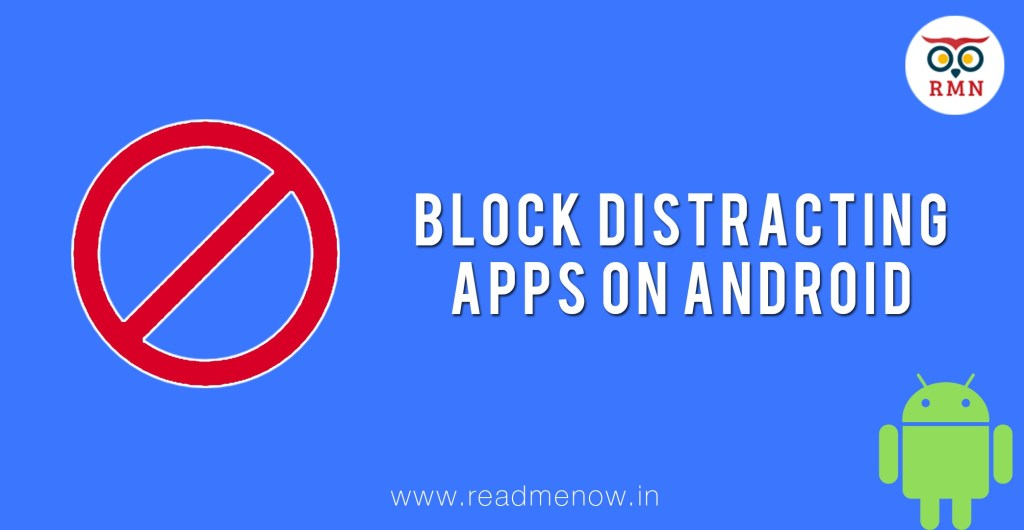 Block distracting apps on android