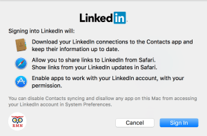 LinkedIn Permissions