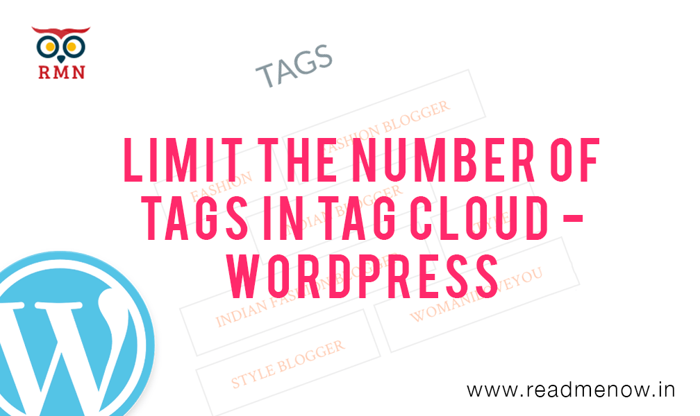 Limit the number of tags tag cloud