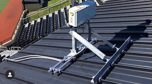 Standing seam roof clamps