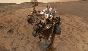 Cтранные предметы, обнаруженные на снимках Марса