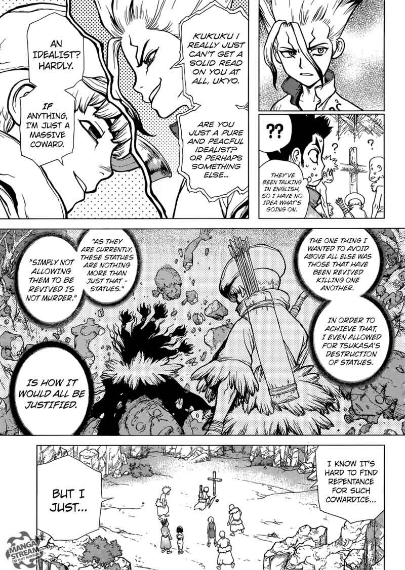 Dr. Stone : Chapter 74 - 20 second of fate image 003