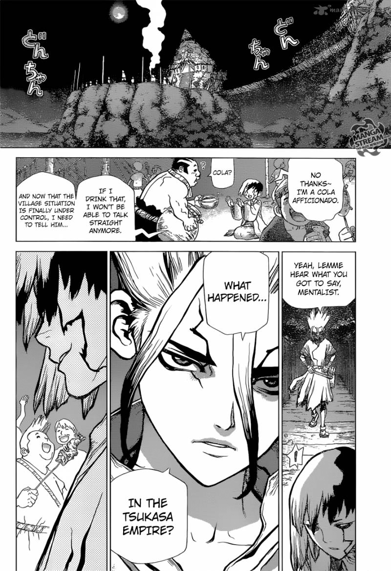 Dr. Stone : Chapter 45 image 016