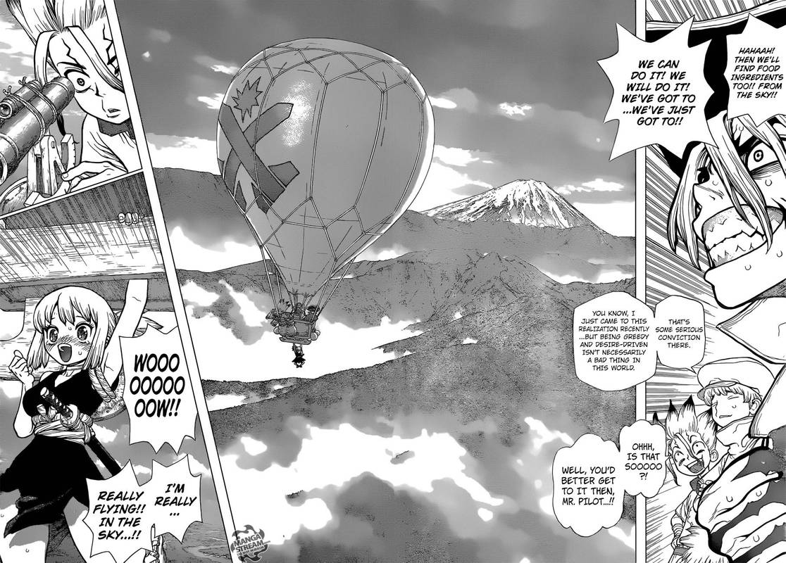 Dr. Stone : Chapter 90 - New World Map image 004