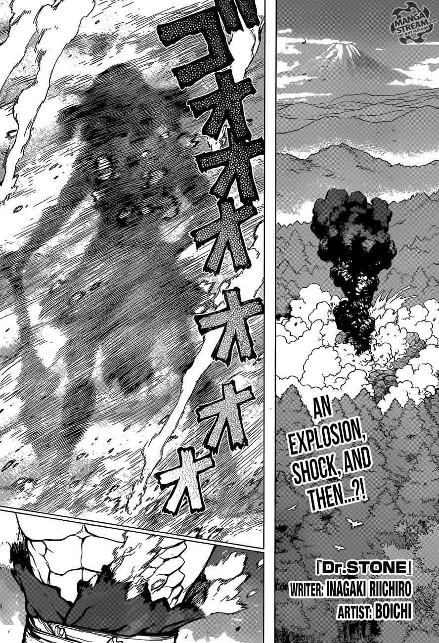 Dr. Stone : Chapter 12 - Epilogue of Prologue image 001