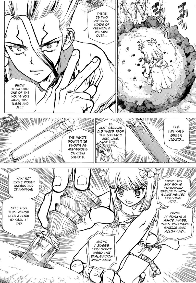 Dr. Stone : Chapter 114 - As Science Silently Bores through Stone image 013