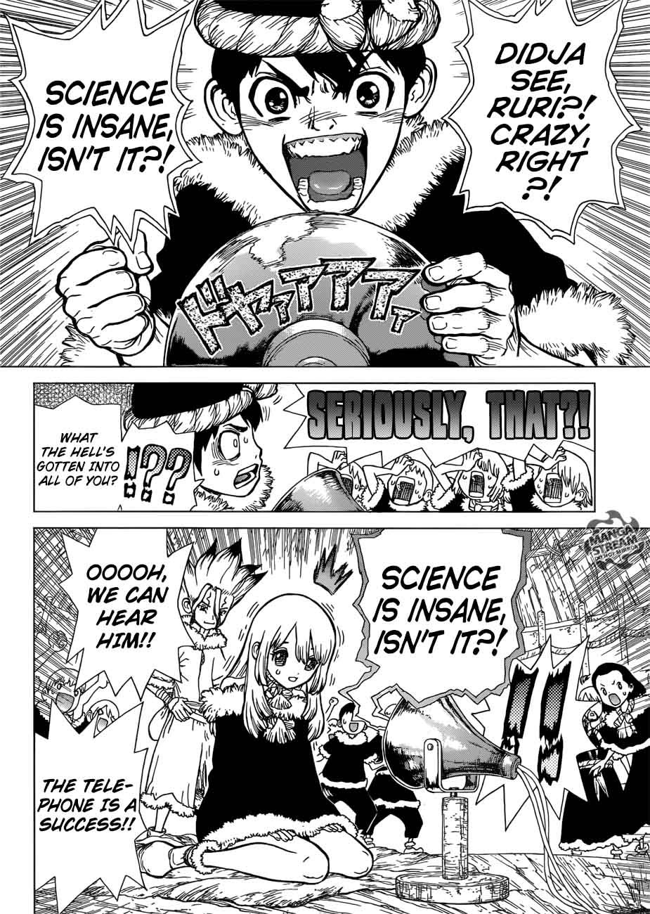 Dr. Stone : Chapter 59 - A voice sent across infinity and beyond image 009