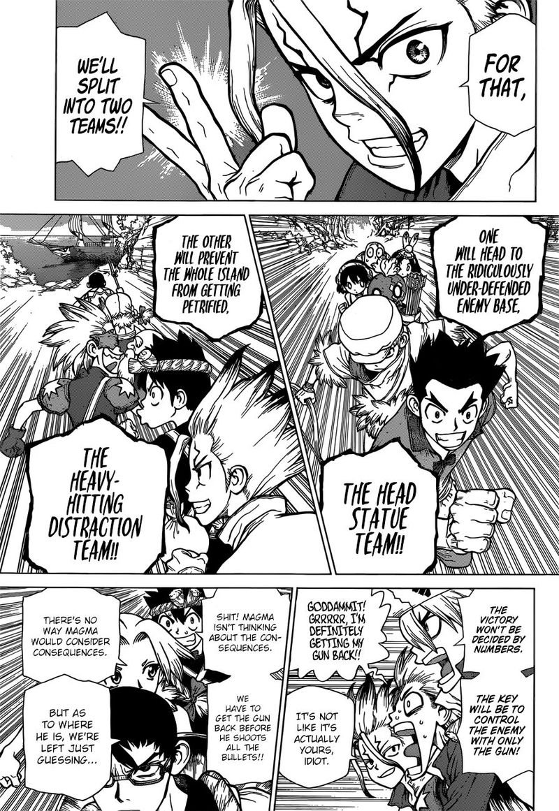 Dr. Stone : Chapter 128 - All-Out Battle Royal image 005