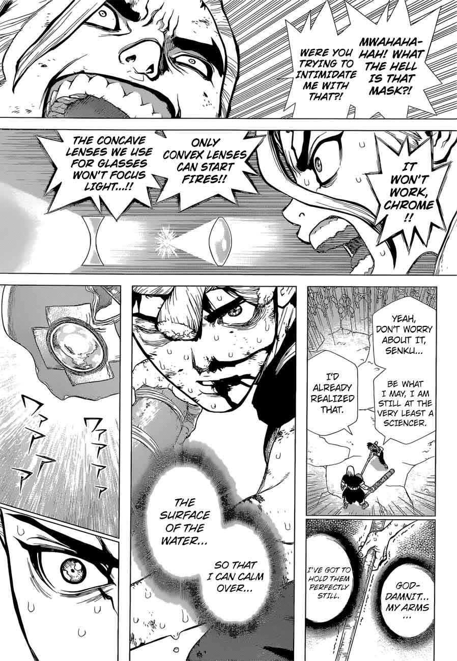 Dr. Stone : Chapter 38 - Master of Flame image 003