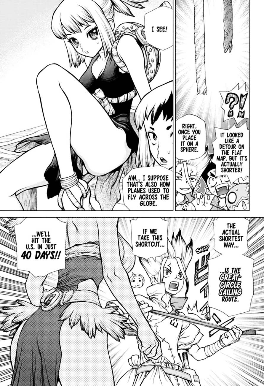 Dr. Stone : Chapter 143 - RYUSUI VS SENKU image 010