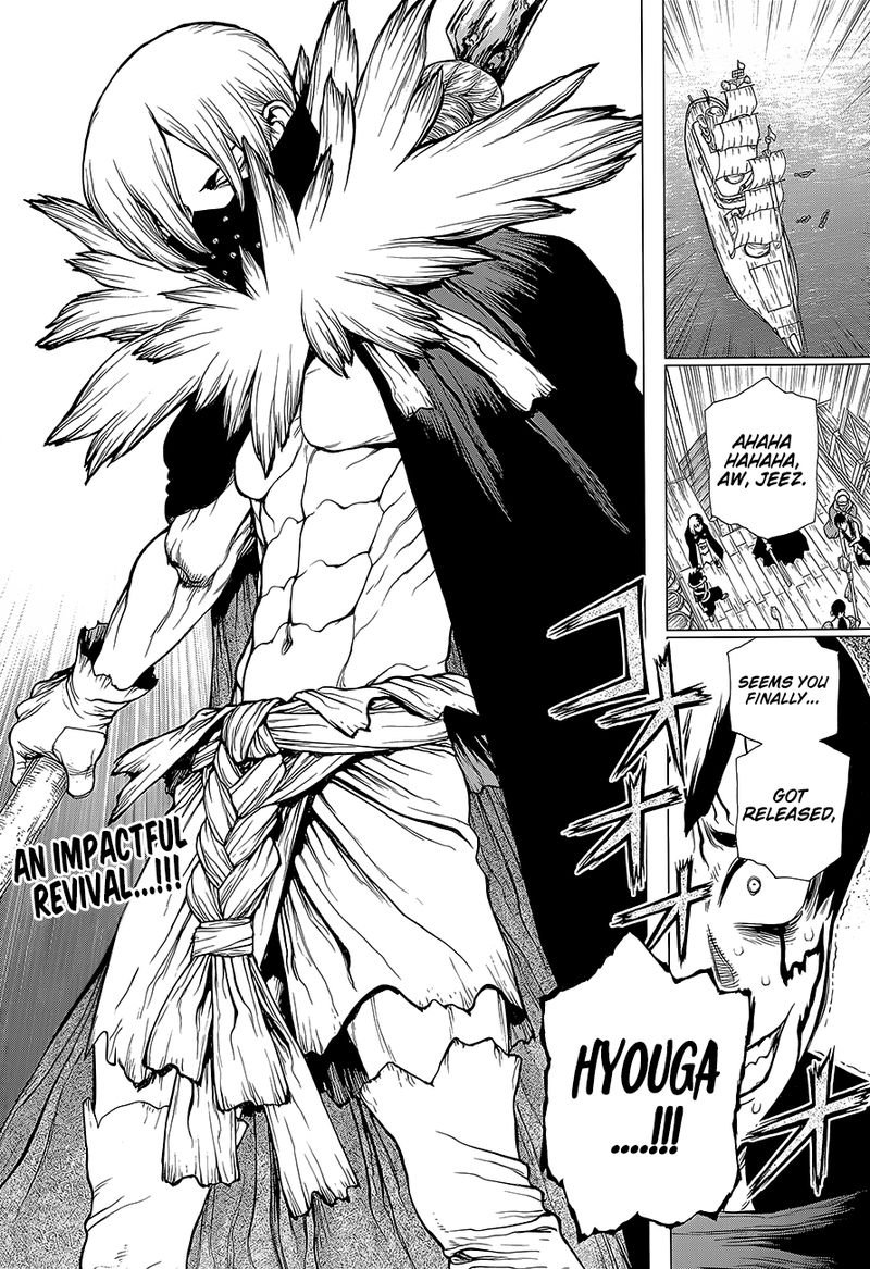 Dr. Stone : Chapter 130 - The Devils Choice image 002