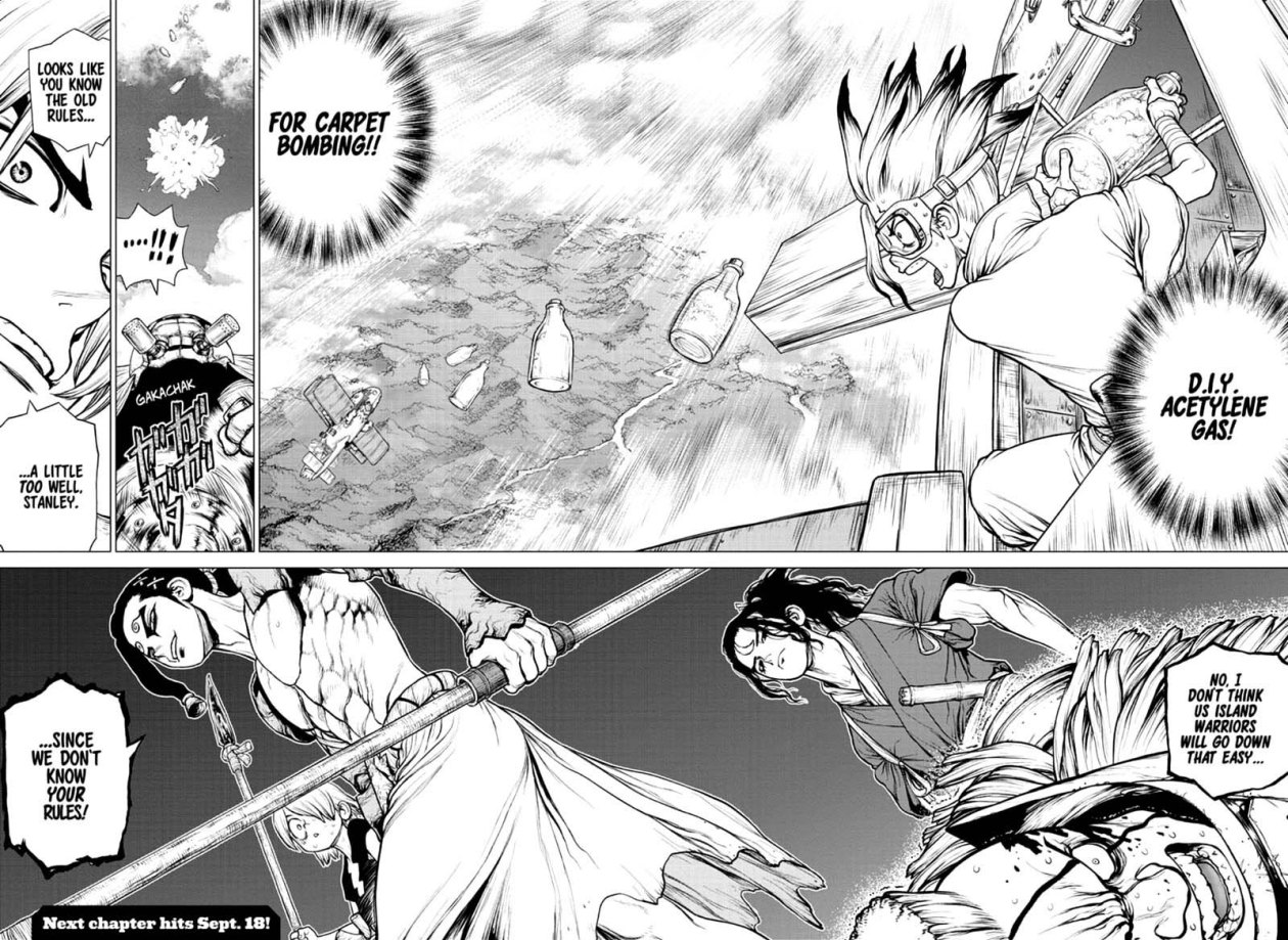 Dr. Stone : Chapter 165 - Know the Rules, Make the Rules image 017