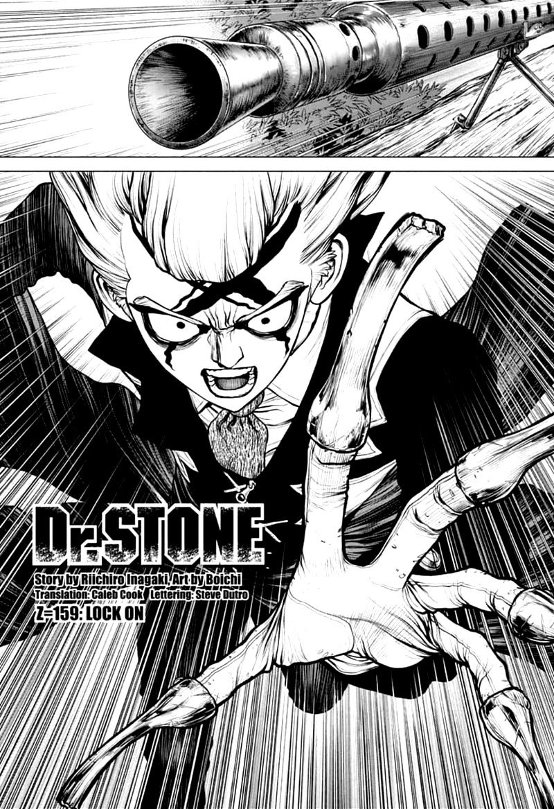 Dr. Stone : Chapter 159 - Lock On image 002